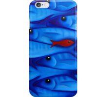 Blue Fish 3 iPhone Case/Skin