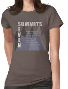 Seven Summits Womens Fitted T-Shirt