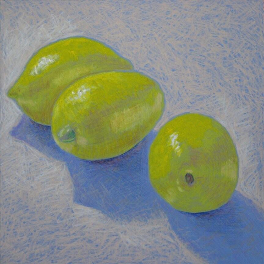 """Lemon blue"" by Richard Robinson"