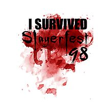 I Survived Slayerfest 98 Photographic Print