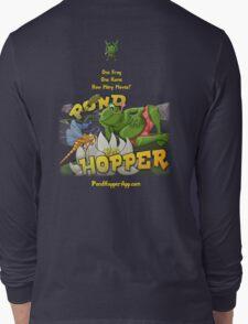 Pond Hopper for iPhone and iPad Long Sleeve T-Shirt