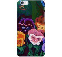 Alice in Wonderland Flowers iPhone Case/Skin