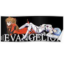 neon genesis evangelion rei ayanami asuka soryu anime manga shirt Poster