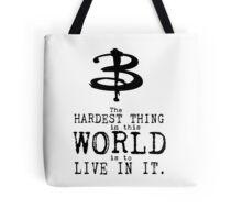 Buffy the Vampire Slayer Typography Tote Bag