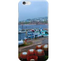 Nova Scotia Harbor iPhone Case/Skin
