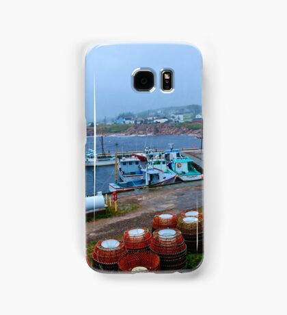 Nova Scotia Harbor Samsung Galaxy Case/Skin