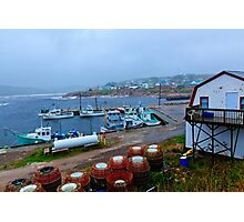 Nova Scotia Harbor Photographic Print
