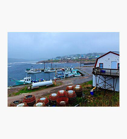 Nova Scotia Harbor Photographic Print