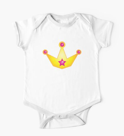 Golden royal crown cute! One Piece - Short Sleeve