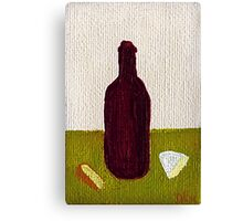 Wine and Cheese Canvas Print