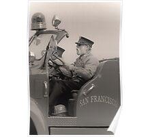 old fireman Poster