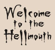 Welcome to the Hellmouth Buffy the Vampire Slayer T-Shirt