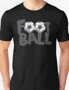 FOOTBALL with soccer balls T-Shirt
