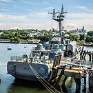 Soviet Missile Corvette: Battleship Cove Fall River, MA by Rebecca Bryson