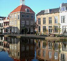A touch of Dutch reflected (Het Zakkendragershuisje) by Stephanie Owen