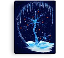 Fantasy Tree- Christmas Card Canvas Print