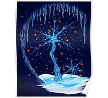 Fantasy Tree- Christmas Card Poster