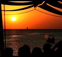 Sunset@Café del Mar 3 by JanRonaldCrans