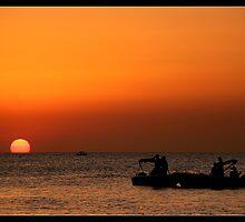 Sunset@Café del Mar 6 by JanRonaldCrans
