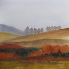 Autumn Landscape by bevmorgan