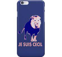 Je Suis Cecil #2 iPhone Case/Skin