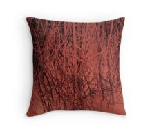 Trees :: Or a broomstick Throw Pillow