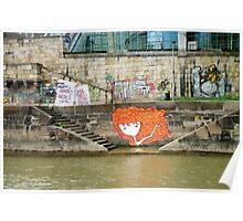 Farewell Danube - Vienna Poster