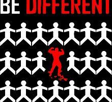 BE DIFFERENT by Shabiya