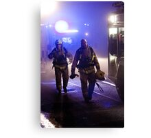 Firefighters Canvas Print