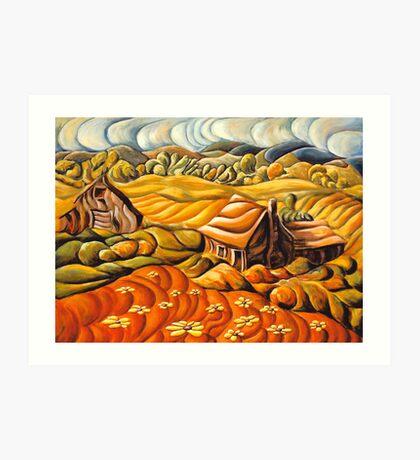 Licking County Landscape Art Print
