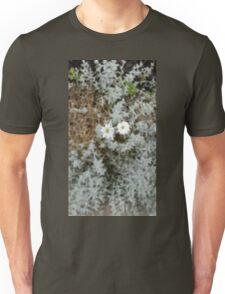 White Flower Morning Unisex T-Shirt
