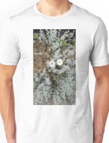 White Flower Morning Unisex T-Shirt