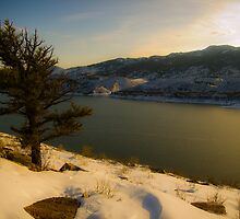 Winter Wonderland at Horsetooth by Roschetzky