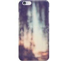 wander, sunset iPhone Case/Skin