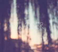 wander, sunset by STUDIOCLAIRE