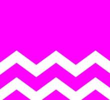Beautiful Cushions/Chevron/ Pink White Sticker