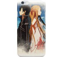 Kirito and Asuna iPhone Case/Skin