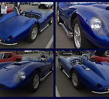 1958 Scarab Replica Collage by TeeMack