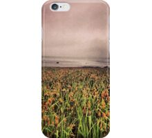 Wetlands Along the Ocean Shoreline  iPhone Case/Skin