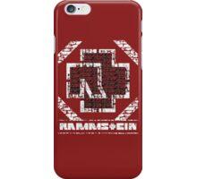 Rammstein - Steinmauer iPhone Case/Skin