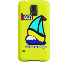 Boat Full of Drugs and Guns Samsung Galaxy Case/Skin