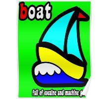 Boat Full of Drugs and Guns Poster