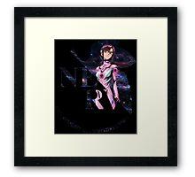 neon genesis evangelion mari makinami illustrious anime manga shirt Framed Print