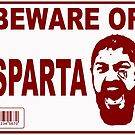 Beware of Sparta by Omar  Mejia