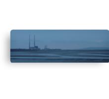 sandymount strand on a winters evening Canvas Print
