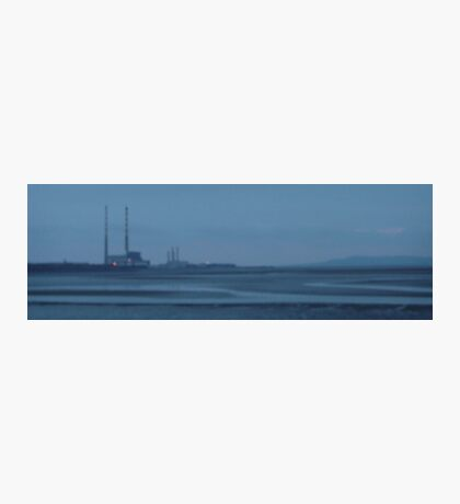 sandymount strand on a winters evening Photographic Print