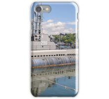 USS Lionfish (SS-298) Battleship Cove Fall River,  MA iPhone Case/Skin