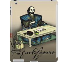 Samurai Shakespeare iPad Case/Skin