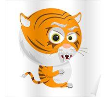 Cartoon Tiger Poster