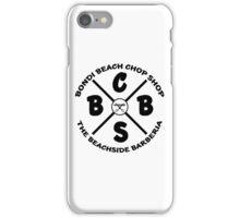 The Beachside Barberia iPhone Case/Skin